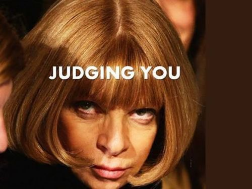 Young Designers: Anna Wintour Has Advice For You Read more http://bit.ly/1rcHT9w